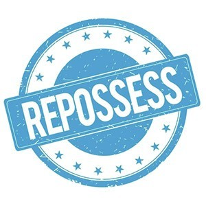 Image of a repossession badge