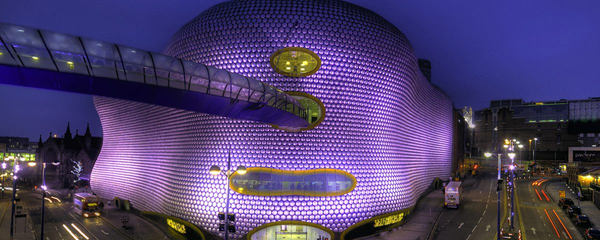 Image of the Birmingham Bullring.