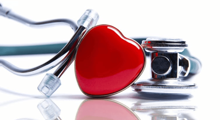 Image of a heart and stethoscope.