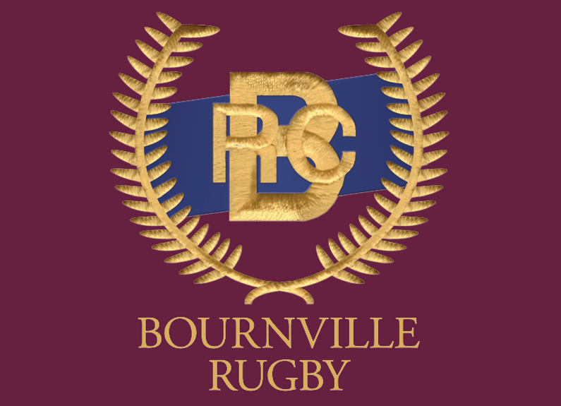 Image of the Bournville Rugby Club logo.