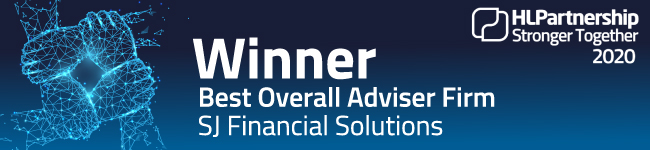 Image of SJ Financial Solution's Best Overall Adviser Firm award.