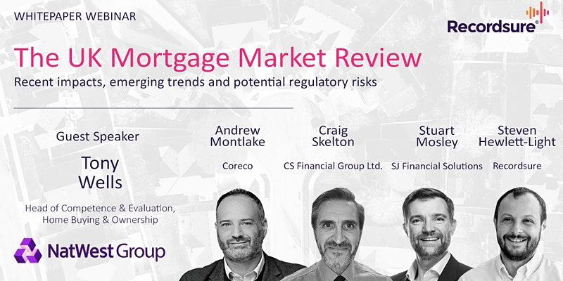 Stuart Mosley will be a Panellist on UK Mortgage Market Trends and Predictions Webinar